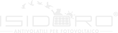 Isidoro System logo bianco