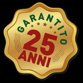 Bollino di garanzia fino a 25 anni